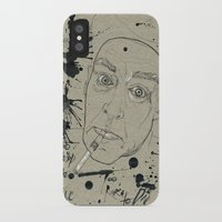 hunter s thompson iPhone & iPod Cases featuring Hunter S Thompson by Nicostman