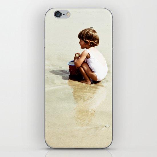 Found in the sea iPhone Skin