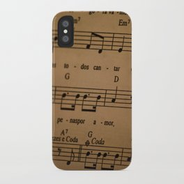Music Tabs iPhone Case
