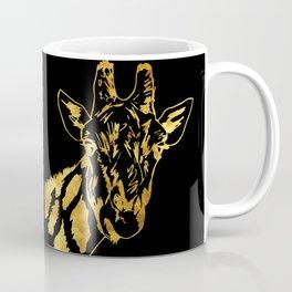 Golden Giraffe Coffee Mug