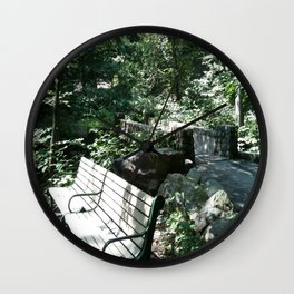 Maplewood - Reservation Wall Clock