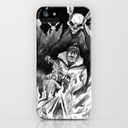 Hunter Beware iPhone Case