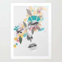 Aura de Vibrantes Art Print
