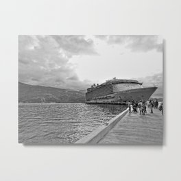 Vacation Transportation Metal Print