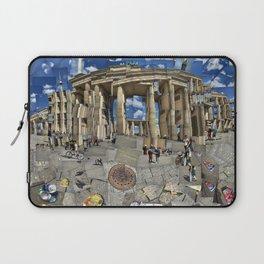 Brandenburg Gate - Photomontage Collage Laptop Sleeve