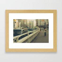 Vintage Tokyo Framed Art Print