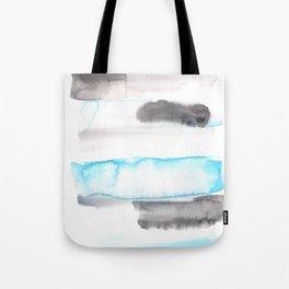 170603 Watercolour Colour Study 11  |Modern Watercolor Art | Abstract Watercolors Tote Bag