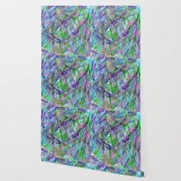 Spring Awakening Abstract Art Wallpaper