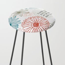 Floral dreams Counter Stool