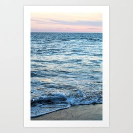California Waves Art Print