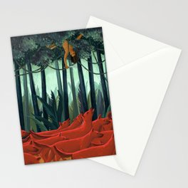 Red Dogs Stationery Cards