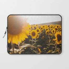 Sunflower's Season (III) Laptop Sleeve