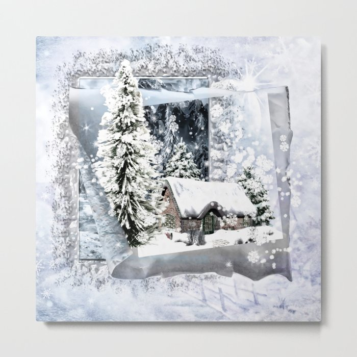 Winterwunderland Metal Print