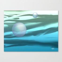 PACIFIC OCEAN AT DAWN Canvas Print