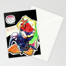 Straight-lined lover Trafalgar Law, One Piece fanart Stationery Cards