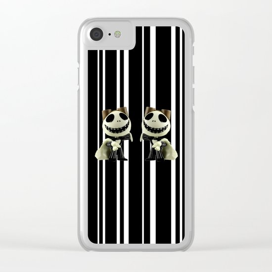 Halloween Prisoner | Jack | Christmas | Nigthmare Clear iPhone Case