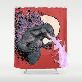 Godzilla 2001 Shower Curtain