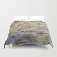 anxiety Duvet Covers featuring Anxiety by Kali Thomas