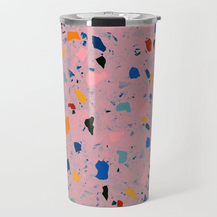 terrazzo confetti Travel Mug