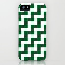 Green Vichy iPhone Case