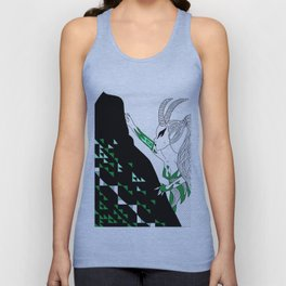 Capricorn / 12 Signs of the Zodiac Unisex Tank Top