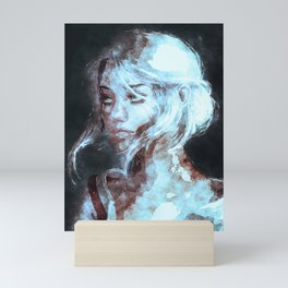Ciri The Witcher Mini Art Print