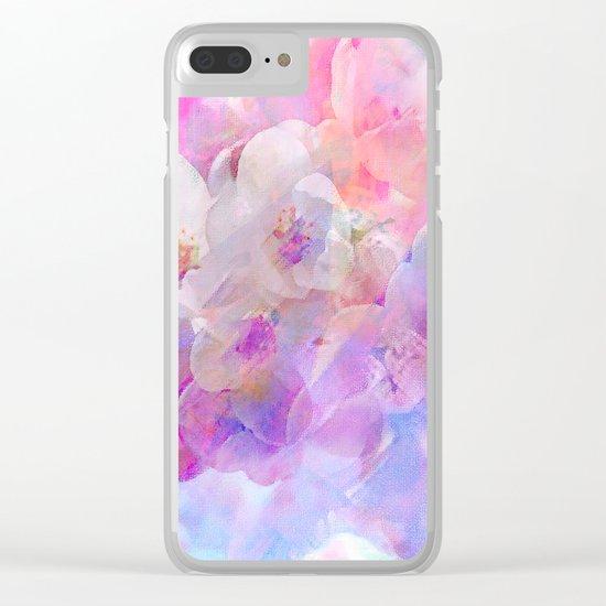 Les fleurs du bien Clear iPhone Case