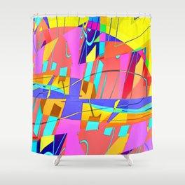 RE-bound-ED Shower Curtain