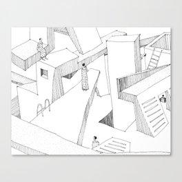In my Dreams 3 Canvas Print