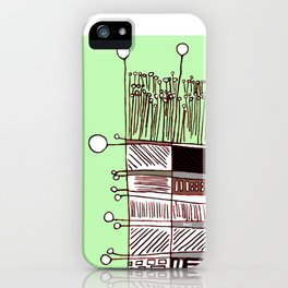 Abstract.African iPhone Case