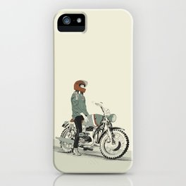 The Woman Rider iPhone Case