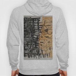 Abstract gold Hoody