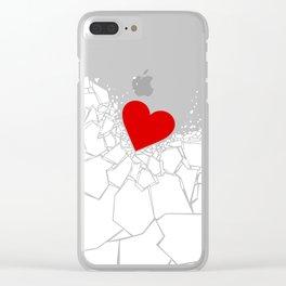 Heartbreaker Clear iPhone Case