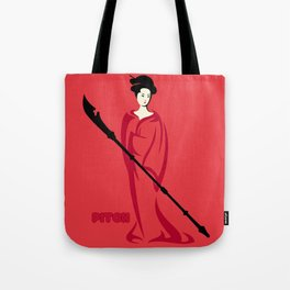 Pitch : Une dame écarlate Tote Bag