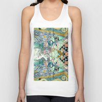nicolas cage Tank Tops featuring Cage by Shaila