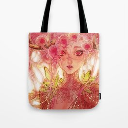 Queen of roses Tote Bag