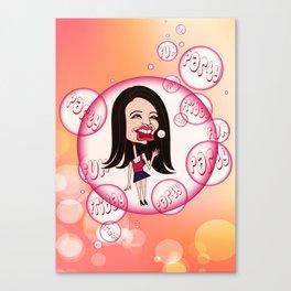 Rebecca Black. It's Friday Again! Canvas Print