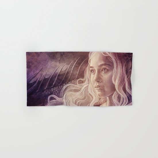 Fire and Blood Hand & Bath Towel