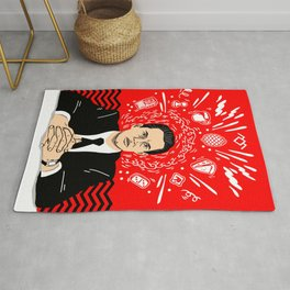 Twin Peaks: Dale Cooper's Thoughts Rug