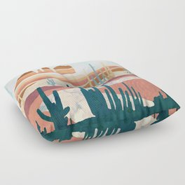 Desert Vista Floor Pillow