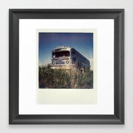The Spit - Polaroid Framed Art Print