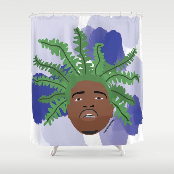 A$ap Fern Shower Curtain