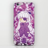 chibi iPhone & iPod Skins featuring Chibi Barasuishou by Yue Graphic Design