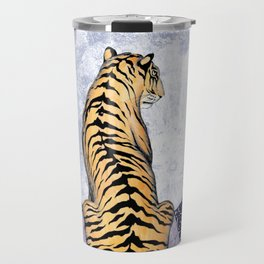 Tiger Moon | Colour Version Travel Mug