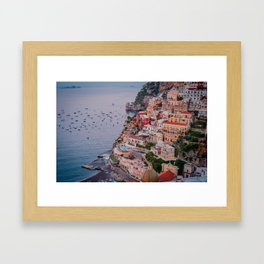 Dreaming Positano Framed Art Print