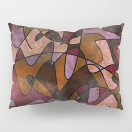 """Everyday Remnants"" Abstract, Alt 5 Pillow Sham"