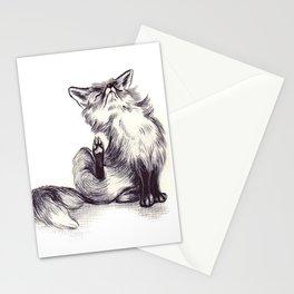 Fox Stationery Cards