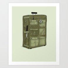 LOST Luggage / John Art Print