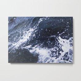 Sea of Pulses Metal Print