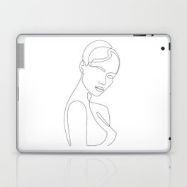 Shy Portrait Laptop & iPad Skin